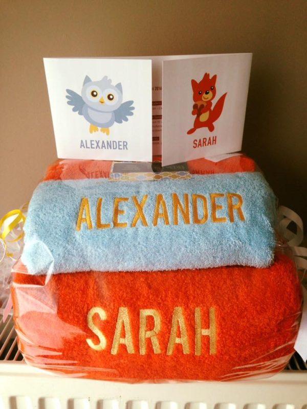 Badgoed voor Alexander & Sarah