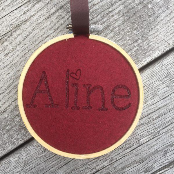 Balt met vilt voor Aline