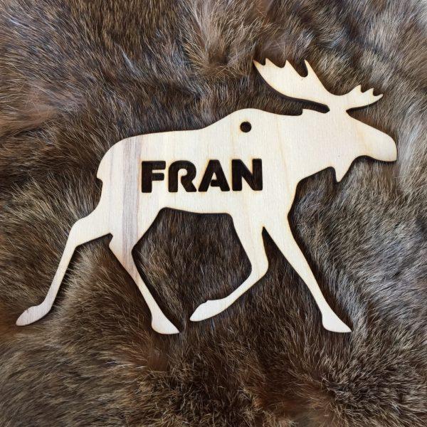 Moosehanger voor Fran