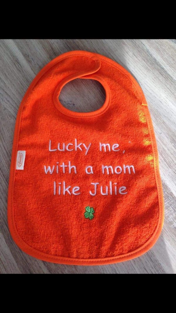 Slabbetje mom Julie