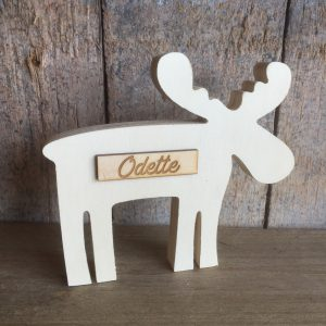 Staande moose voor Odette